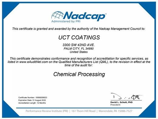 Nadcap Certification